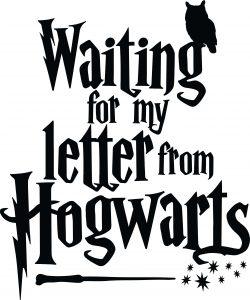 Buchfaltkunst - Waitung for my letter from Hogwarts